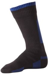 SealSkinz Thick Mid Length Sock Zwart
